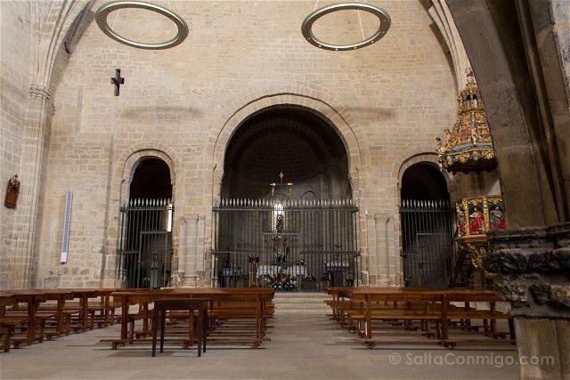 Navarra Ujue Santa Maria Interior