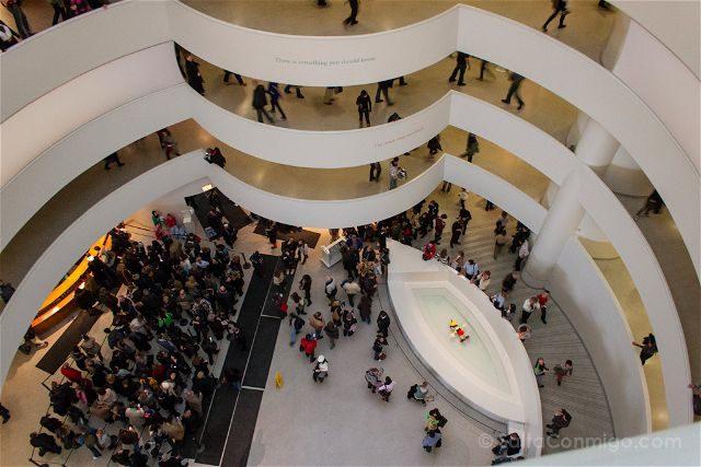 USA Nueva York Museo Guggenheim Interior