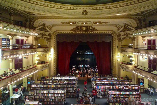 Argentina Buenos Aires Ateneo Grand Splendid