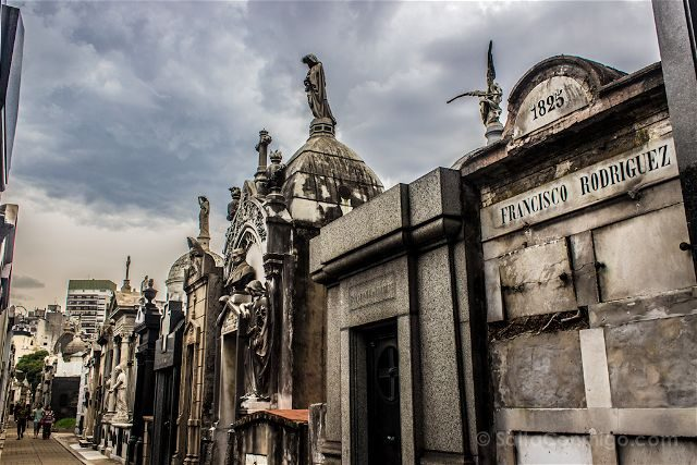 Argentina Buenos Aires Cementerio Recoleta