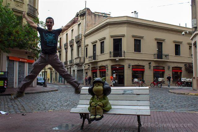 Argentina Buenos Aires Mafalda Salto