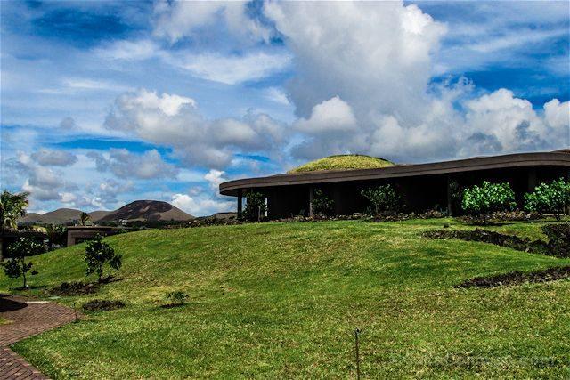 Chile Isla de Pascua Hotel Hangaroa Arquitectura