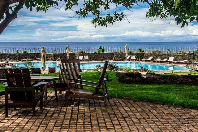Chile Isla de Pascua Hotel Hangaroa Piscina