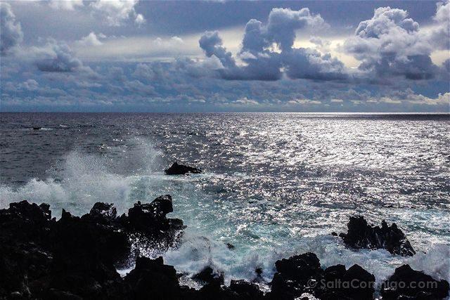 Chile Isla de Pascua Hotel Hangaroa Vista Pacifico