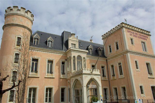 Francia BiarritzPalacio Duque Osuna Javalquinto Oficina Turismo