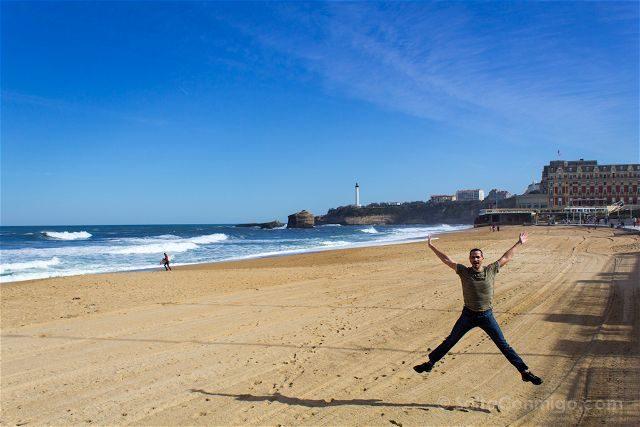 Francia Biarritz Playa Salto