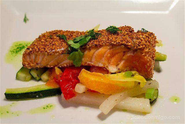 Francia Biarritz Restaurante Baleak Salmon