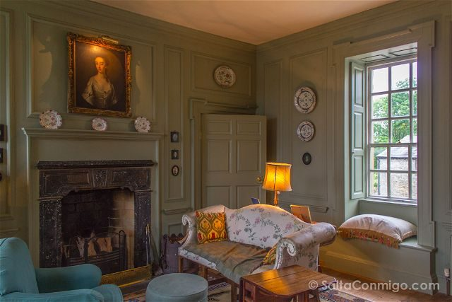 Irlanda Dormir Ballinderry Park Hotel Salon