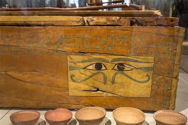 Italia Turin Museo Egipcio Ojos