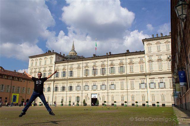 Italia Turin Palacio Real Salto