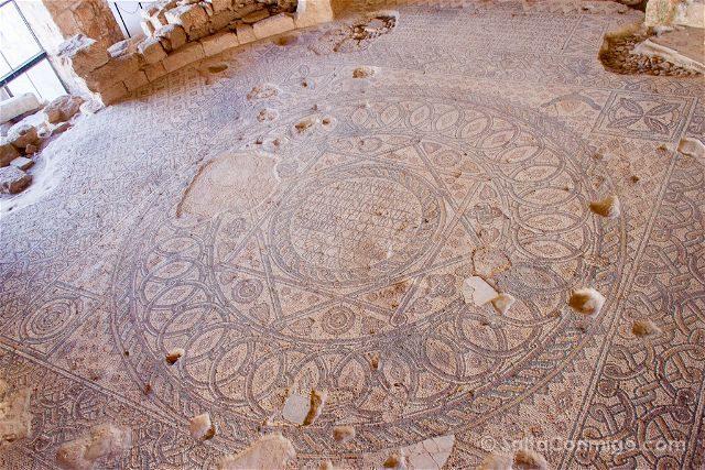 Jordania Madaba Museo Arqueologico Mosaico