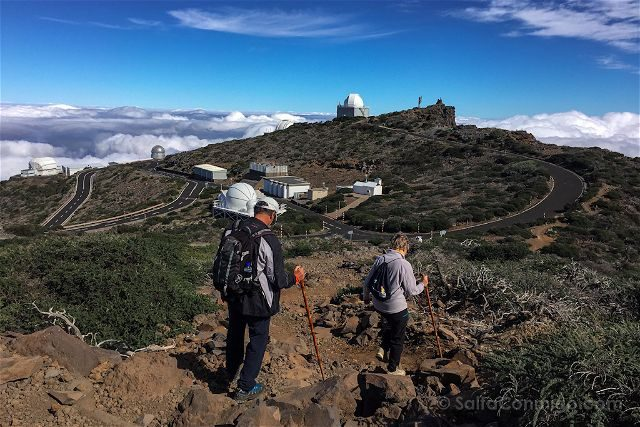 La Palma Ruta Senderismo Trekking Roque Muchachos Caminantes