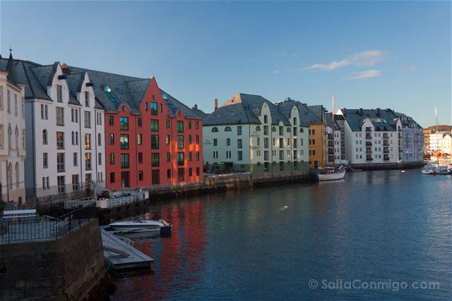 Noruega Alesund Muelle
