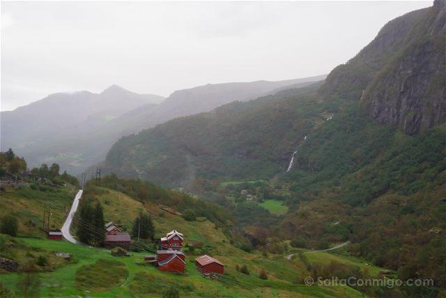 Noruega Flamsbana Paisaje