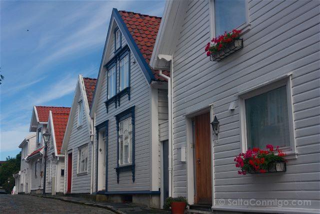Noruega Stavanger Casas Gamle