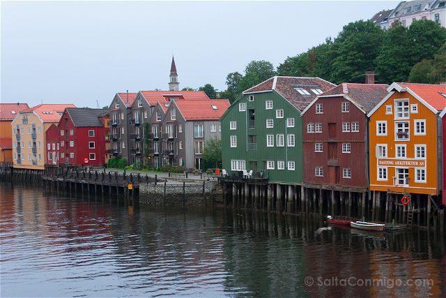 Noruega Trondheim Muelle