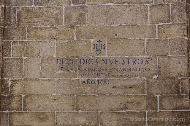 Zaragoza Sos del Rey Catolico Frase