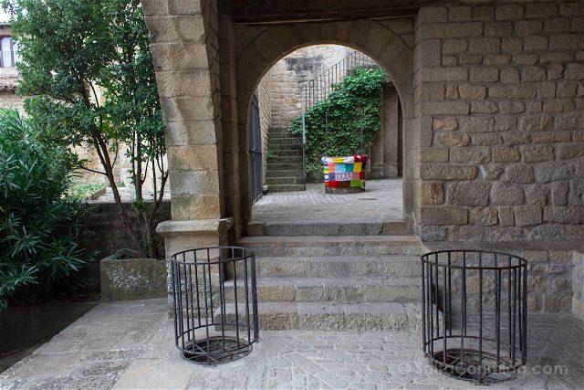 Zaragoza Sos del Rey Catolico Lonja Medieval