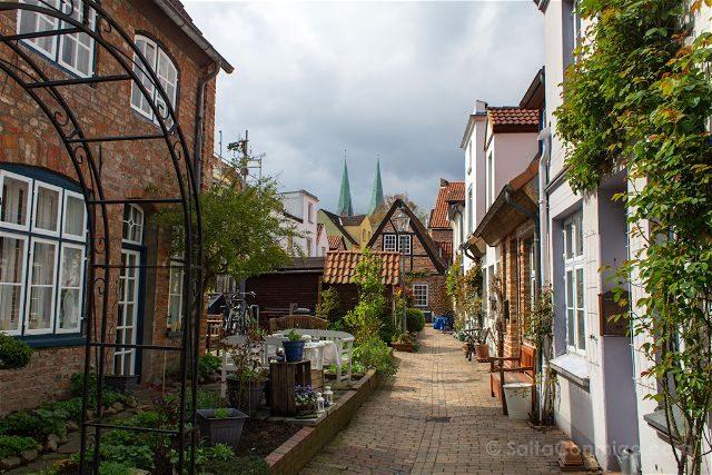 Alemania Lübeck Callejon
