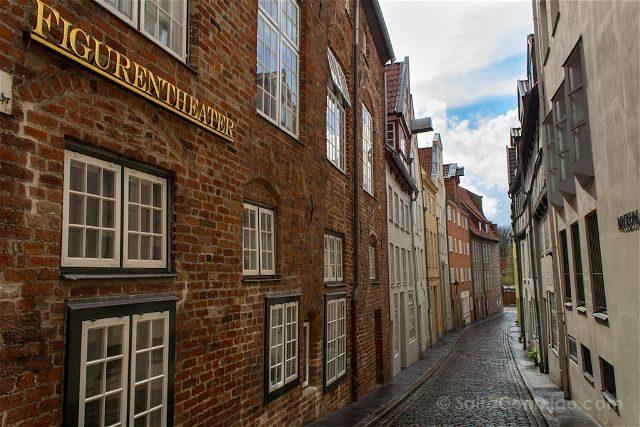Alemania Lübeck Calles Museo Marioneta