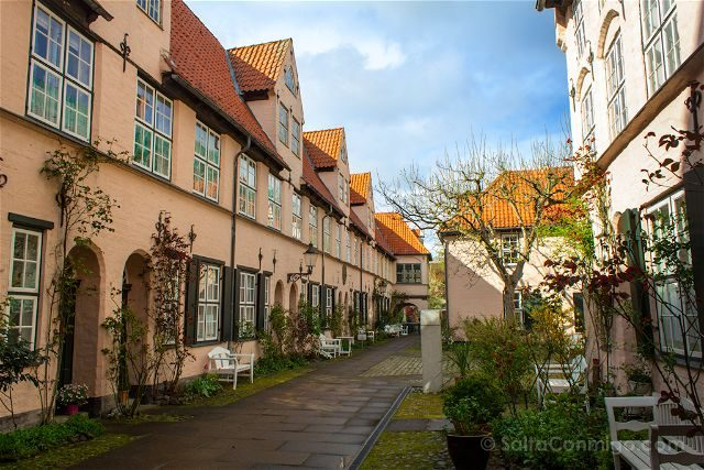 Alemania Lübeck Patio Glandorpsgang