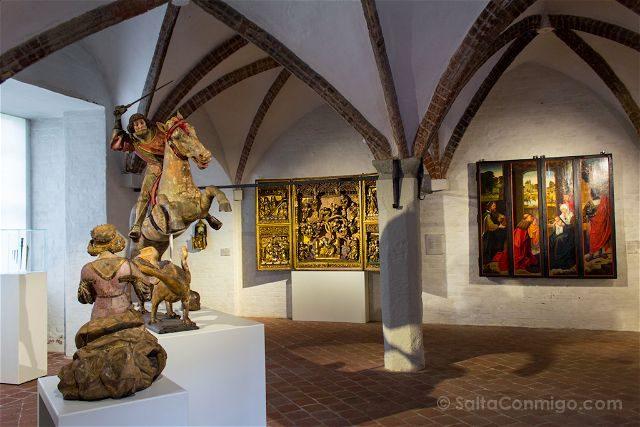 Alemania Lübeck St. Annen Museum