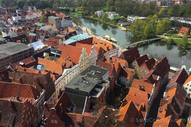 Alemania Lübeck Tejados Corro San Pedro