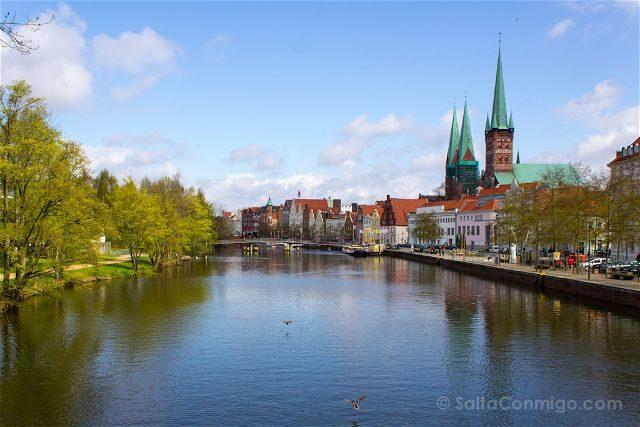 Alemania Lübeck Torres Puente