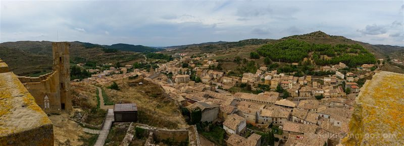Aragon Uncastillo Panorama