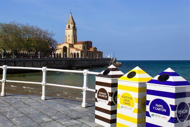 Asturias Gijon Sostenible Iglesia San Pedro Reciclar