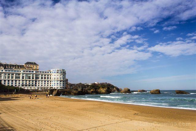Francia Biarritz Playa Casino