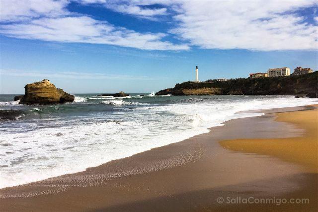 Francia Biarritz Playa Faro