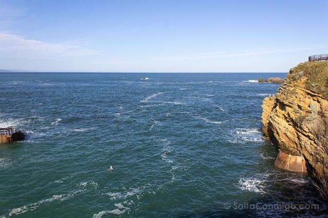 Francia Biarritz Playa Osos Blancos