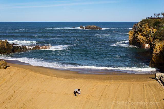 Francia Biarritz Playa