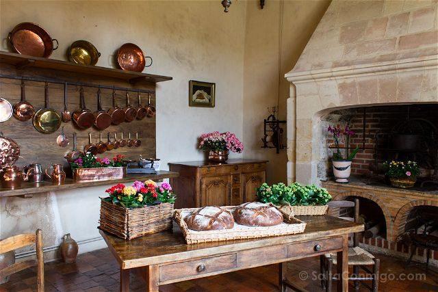 Francia Valle Loira Castillo Villandry Cocina