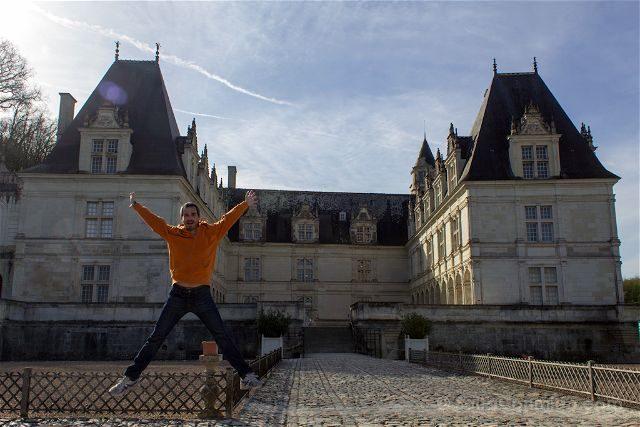 Francia Valle Loira Castillo Villandry Exterior Salto