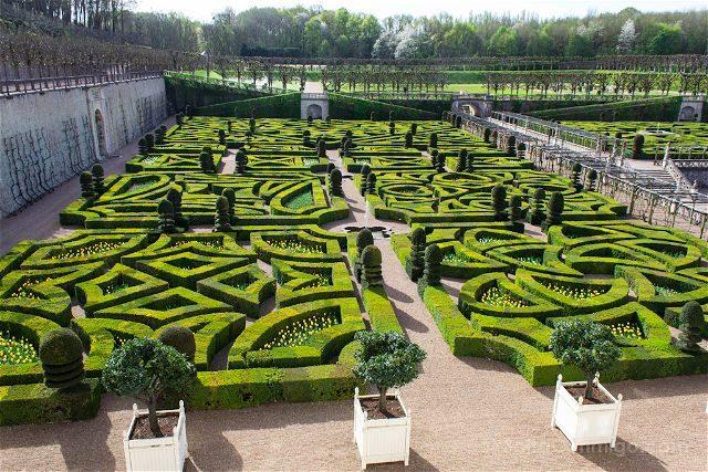 Francia Valle Loira Castillo Villandry Jardin Amor