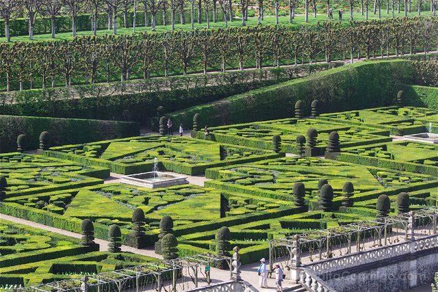 Francia Valle Loira Castillo Villandry Jardin