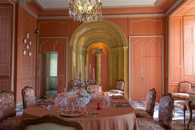 Francia Valle Loira Castillo Villandry Salon Comedor