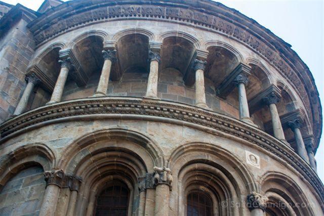 Italia Bergamo Abside Basilica Santa Maria Mayor