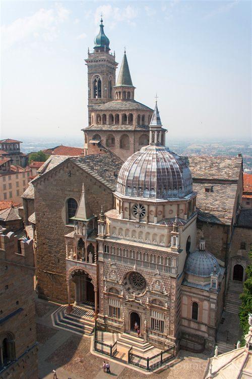 Italia Bergamo Capilla Capella Colleoni
