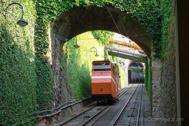 Italia Bergamo Funicular