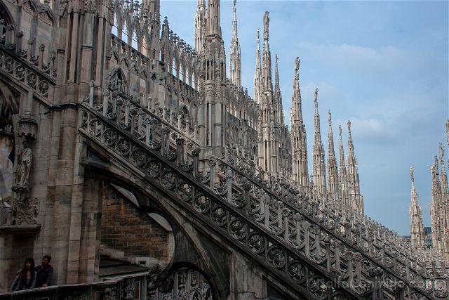 Italia Milan Duomo Azotea