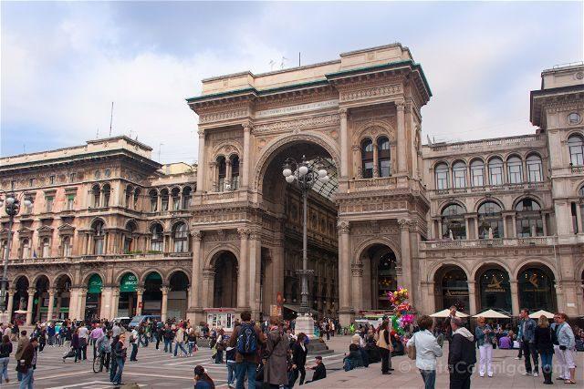 Italia Milan Piazza Duomo Galleria Vittorio Emanuele II