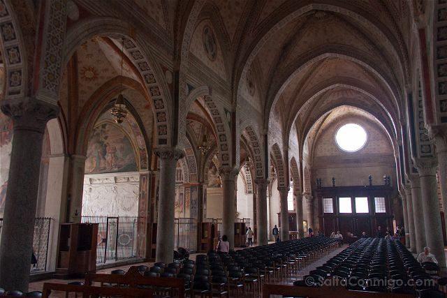 Italia Milan Santa Maria delle Grazie Interior