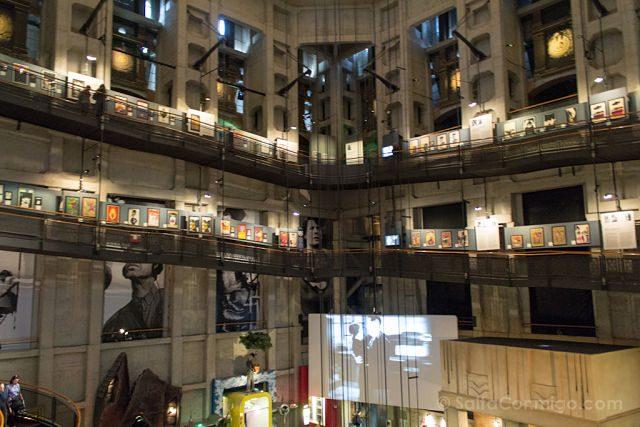 Italia Turin Museo Cine Mole Antoneliana