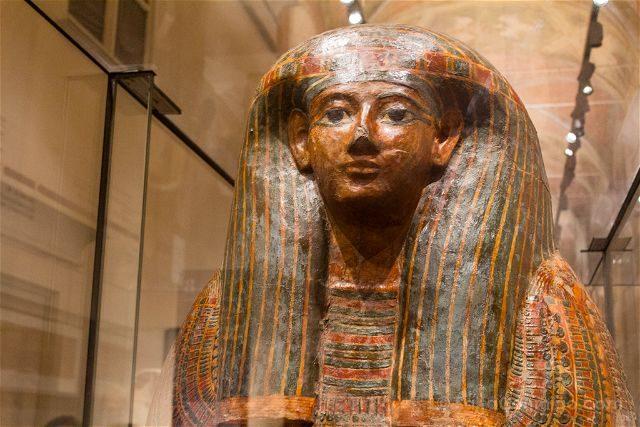 Italia Turin Museo Egipcio Sarcofago