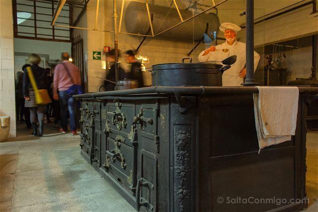 Italia Turin Palacio Real Cocinas Reales