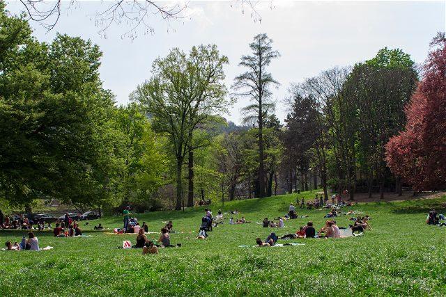 Italia Turin Parco Valentino