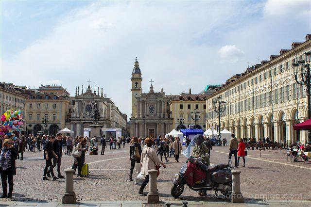 Italia Turin Piazza San Carlo